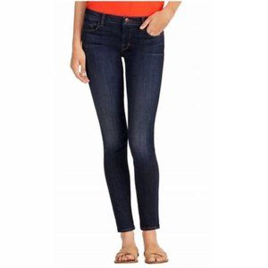 J Brand Mid Rise Skinny Leg Jeans, League 28